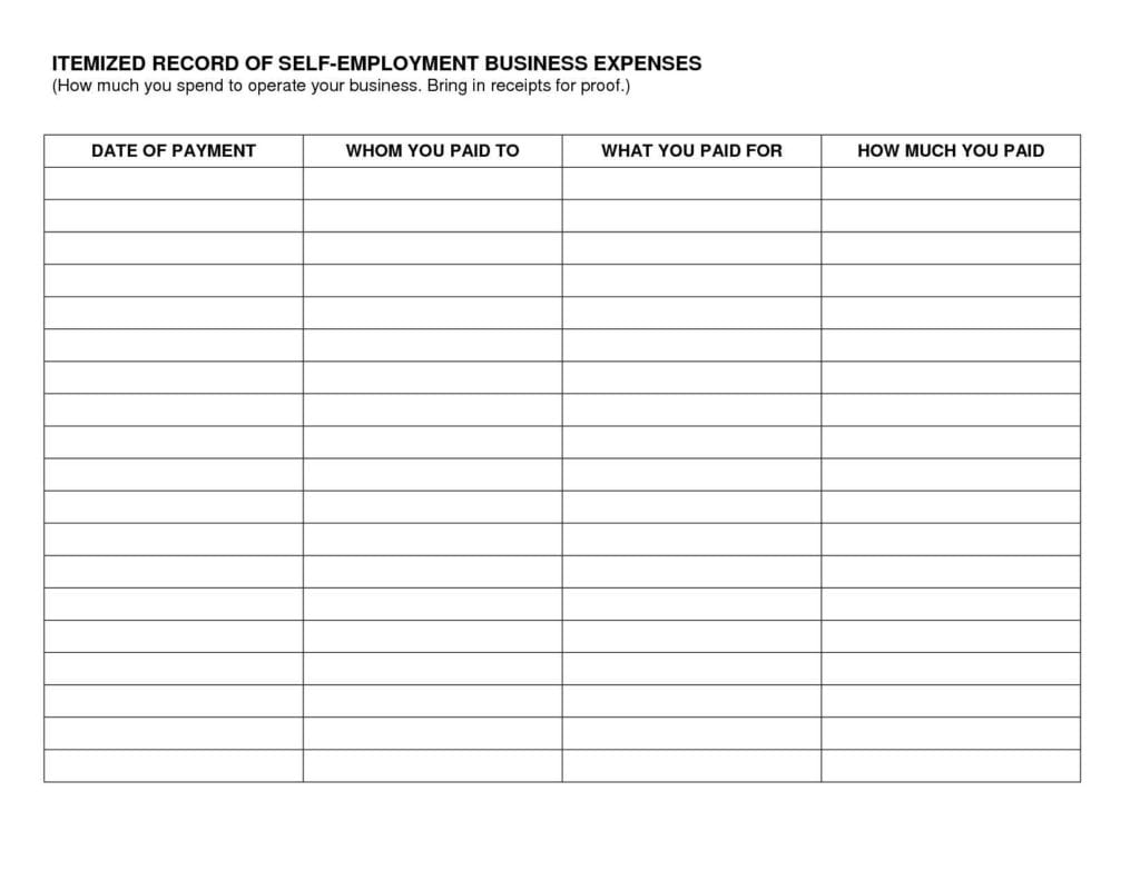 company valuation template excel - sample spreadsheet for business expenses business