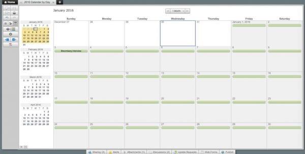 Calendar Budget Spreadsheet