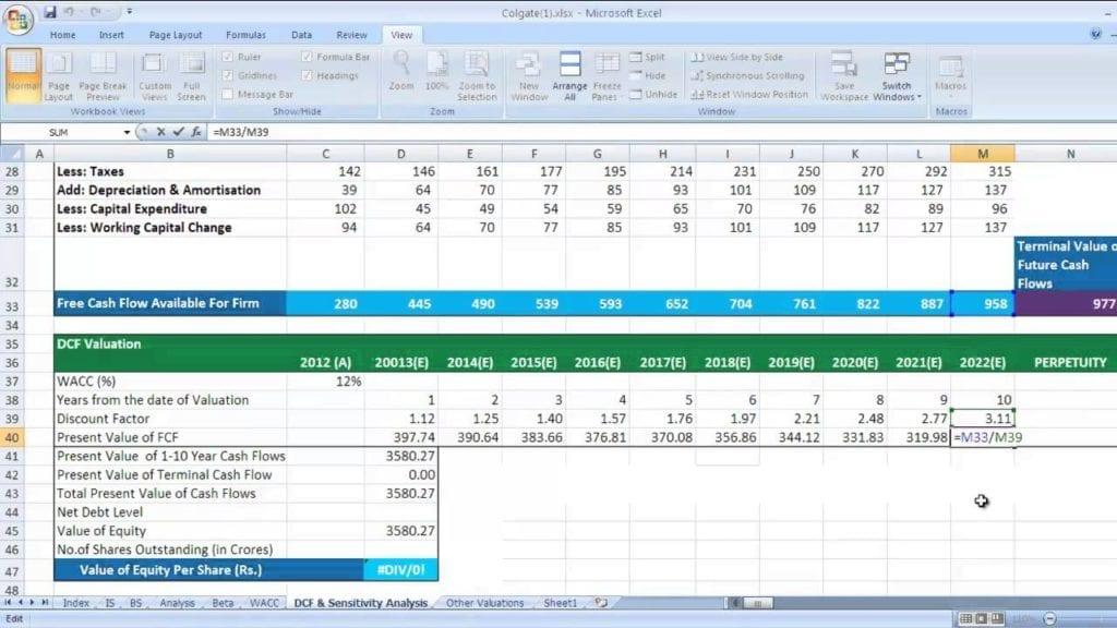 cash flow excel template download — excelxo.com