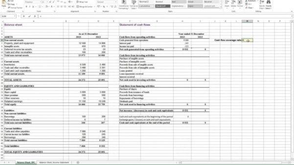 Cash Flow Excel Template Free Download