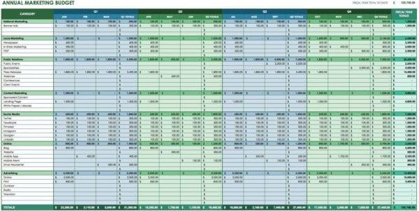 Cost Comparison Spreadsheet Template