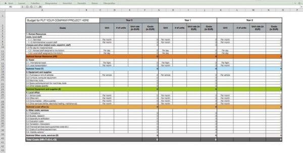 Crm Excel Spreadsheet Download