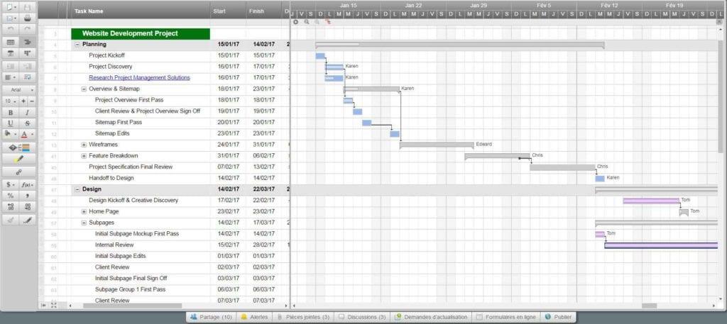 Daily Task Tracking Spreadsheet