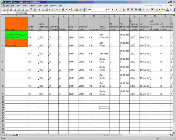 Data Spreadsheet Examples1