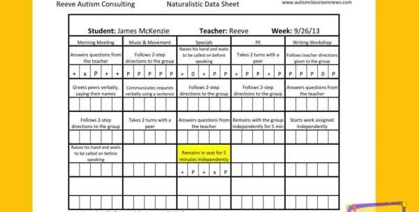 Database Spreadsheet