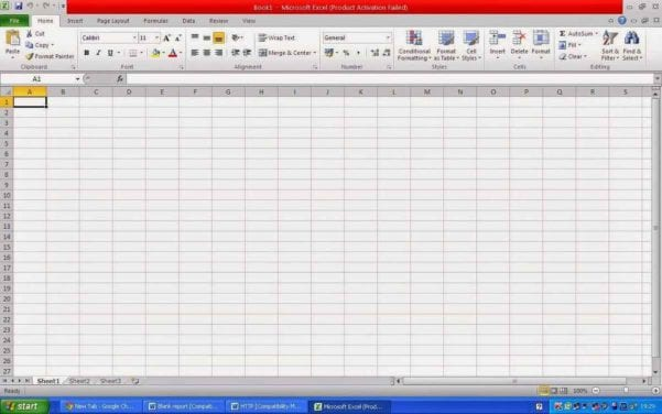 Definition Of Electronic Spreadsheet Software