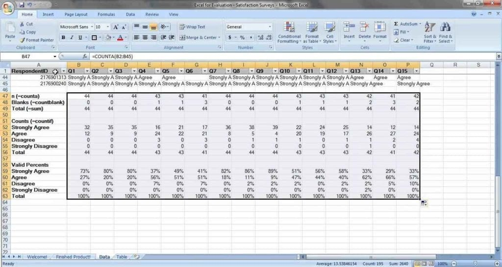 Directional Survey Spreadsheet