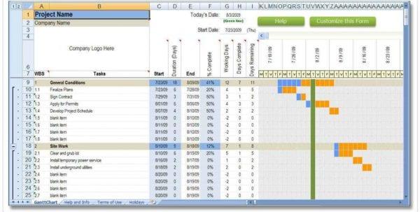 Employee Hours Spreadsheet