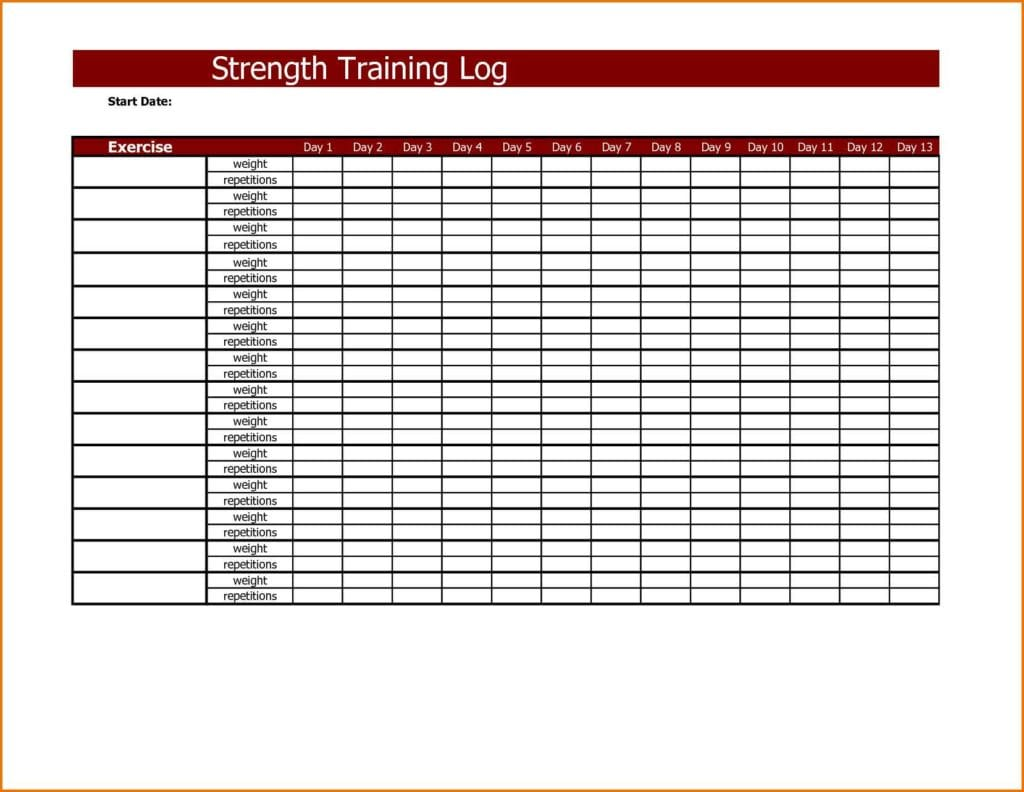 Employee Training Tracker Excel Spreadsheet