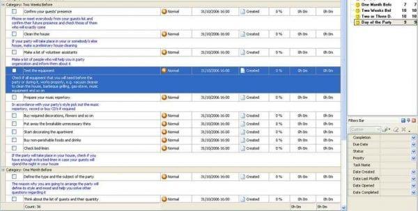 Event Planning Spreadsheet Templates