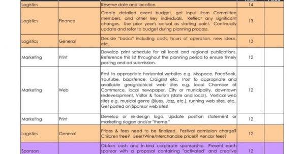 Event Planning Survey Template1