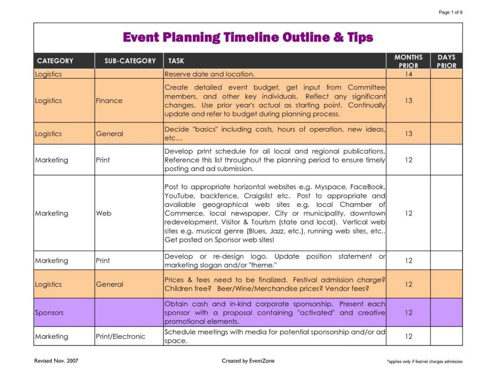 Event Planning Survey Template1