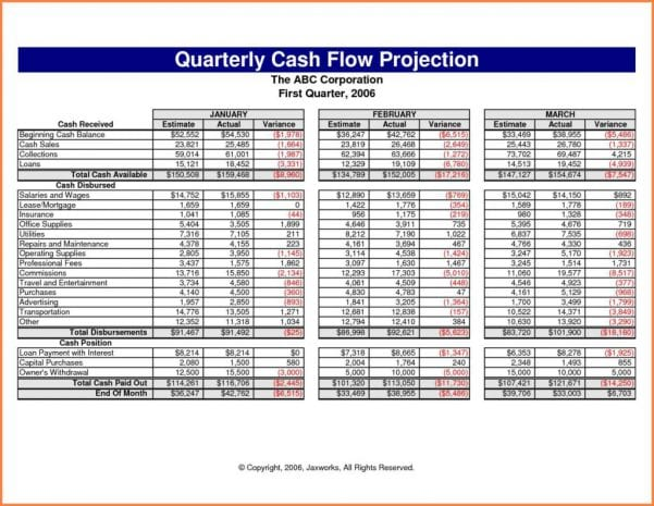 Cash flow forecast example construction cash flow spreadsheet cash flow spreadsheet cash flow spreadsheet cash flow spreadsheet wajeb Image collections