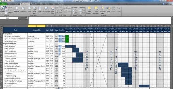 Examples Of Excel Spreadsheets For Business