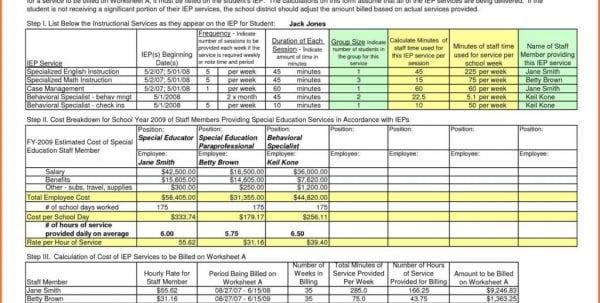 Excel Building Estimate Template Spreadsheet