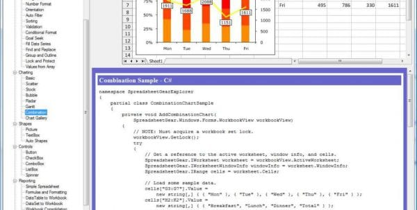 Excel Spreadsheet Budget Examples