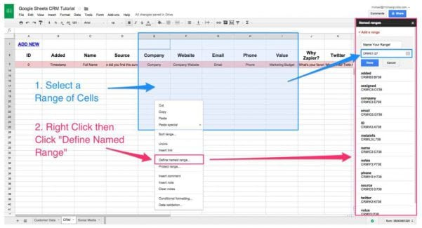Excel Spreadsheet Business Expenses