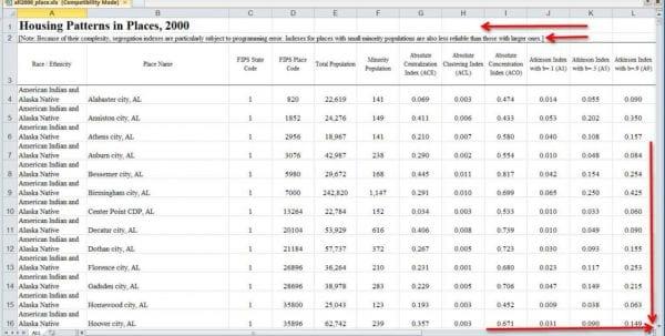 Excel Spreadsheet Database