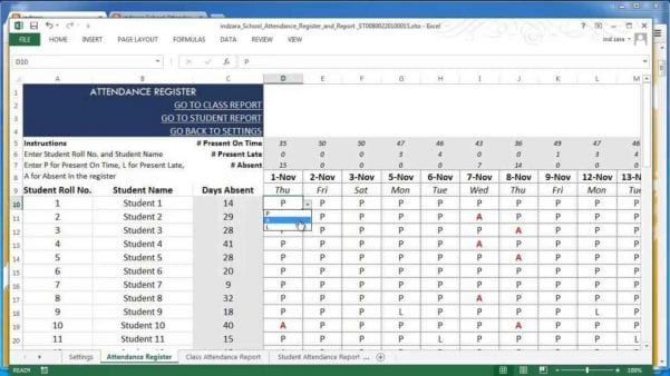 Excel Spreadsheet For Accounting