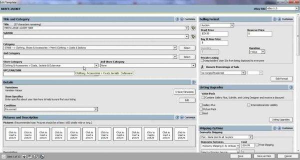 Excel Spreadsheet For Ebay Sales