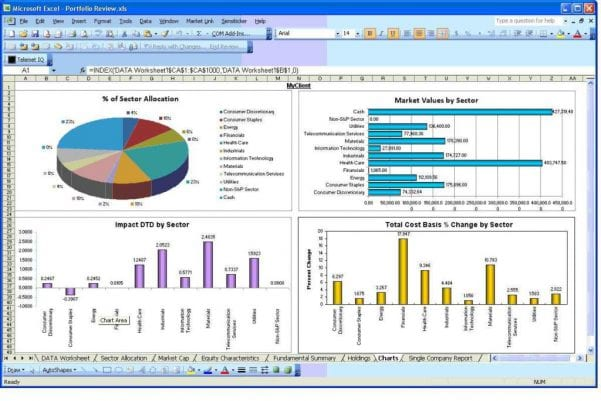 Excel Spreadsheet Project Management