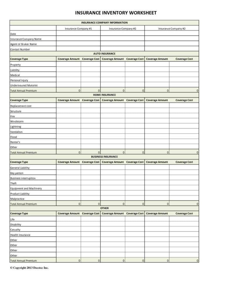 Excel Spreadsheet Quote Templates