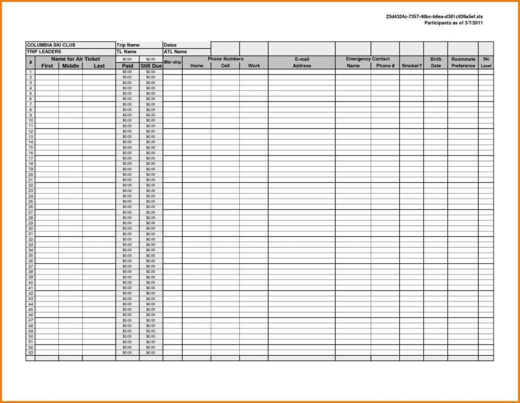 Excel Spreadsheets Templates For Small Business