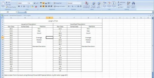 Expense Spreadsheet Template