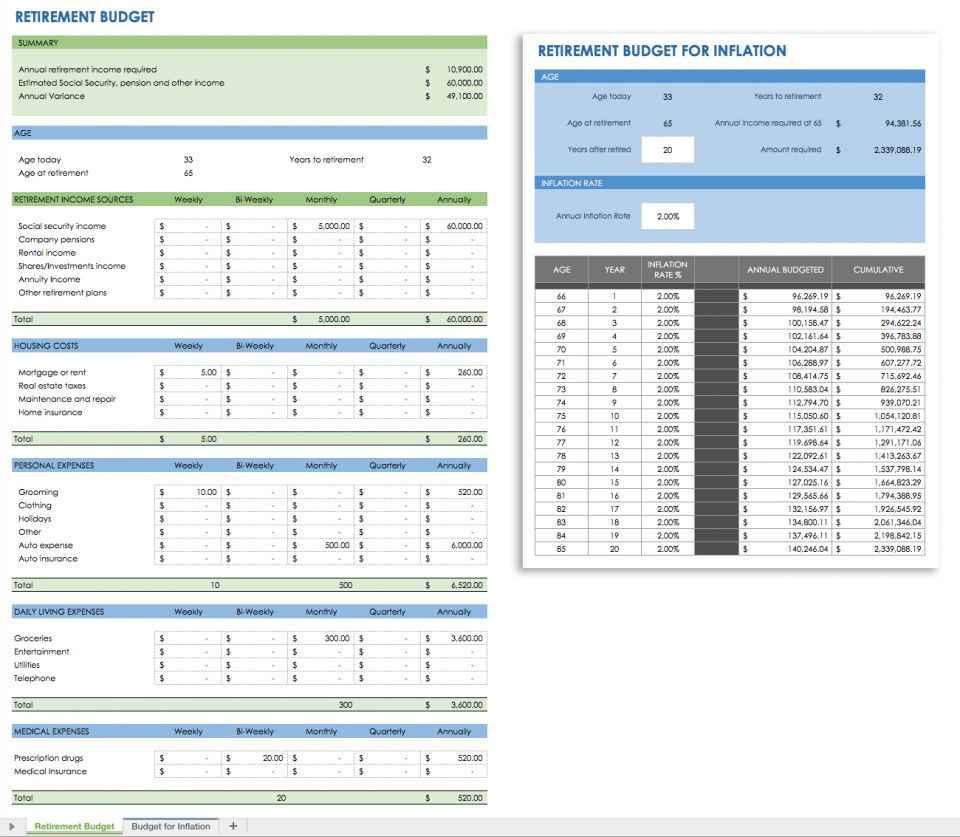 Expense Tracker Excel Spreadsheet