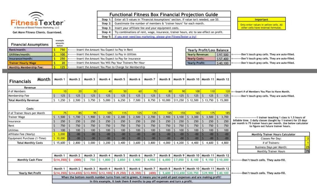 Financial Planner Excel Template1