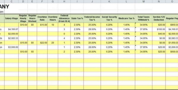 Free Excel Budget Spreadsheets Templates1