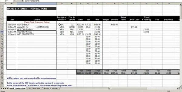 Free Excel Spreadsheet Templates For Small Business