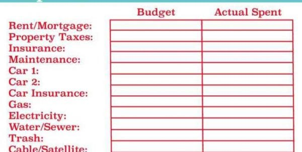 Free Expense Tracking Spreadsheet