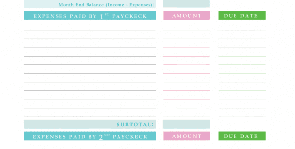 Free Monthly Budget Spreadsheet Template Free Monthly Budget Spreadsheet Template Free Spreadsheet, Spreadsheet Templates for Business, Monthly Spreadsheet, Budget Spreadsheet