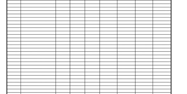 Free Printable Sales Tracking Sheet