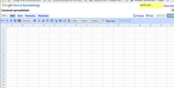 Google Sheets Odbc Google Spreadsheets Spreadsheet Templates for Business, Google Spreadsheet