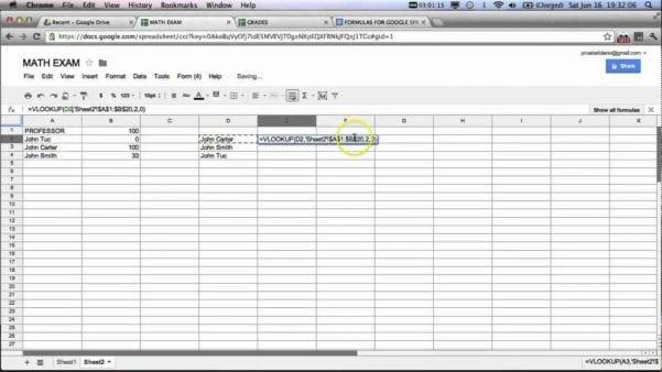 Google Spreadsheet Conditional Formatting