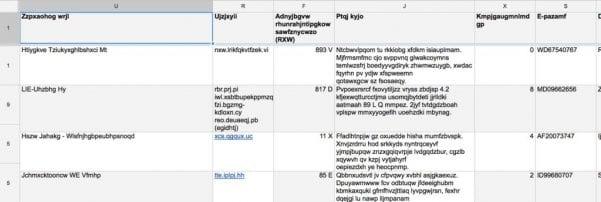 Google Spreadsheet Data From Another Sheet
