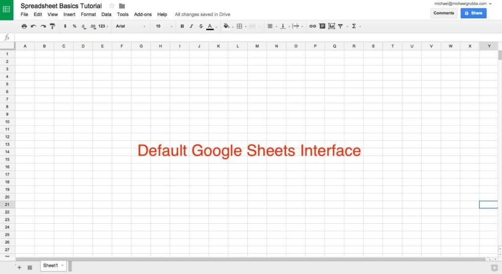 Google Spreadsheet Gantt Chart Template