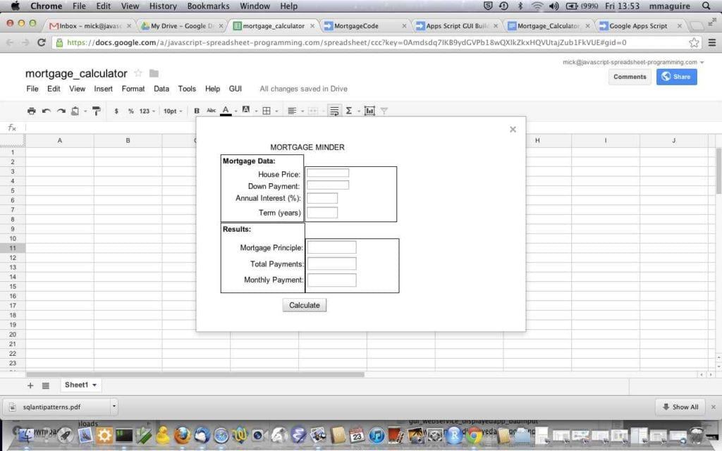 Google Spreadsheet If Function