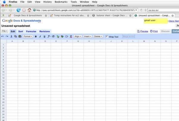 Google Spreadsheet Report