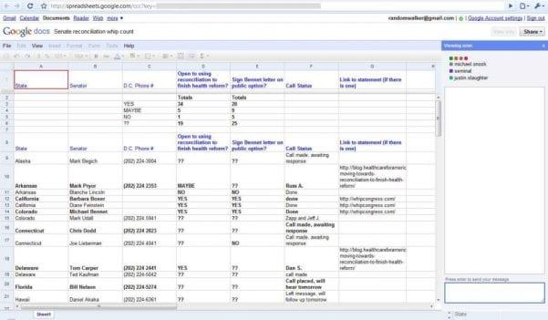Google Spreadsheet Vba