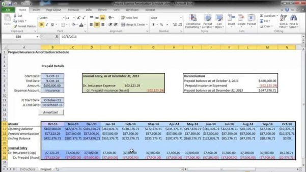 Home Mortgage Amortization Spreadsheet