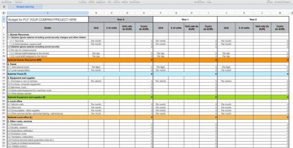 How To Make A Budget Spreadsheet In Google Docs How To Make A Spreadsheet Spreadsheet Templates for Business, How To Create A Spreadsheet
