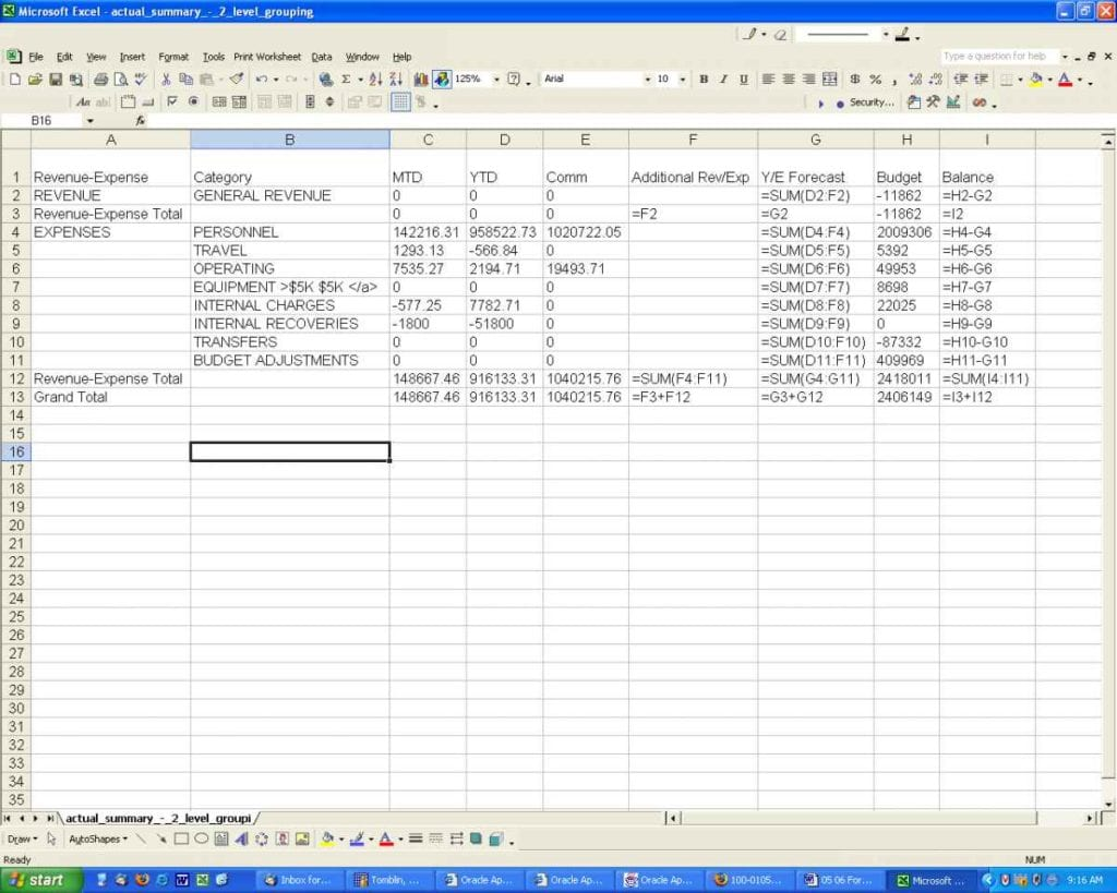 How To Set Spreadsheets