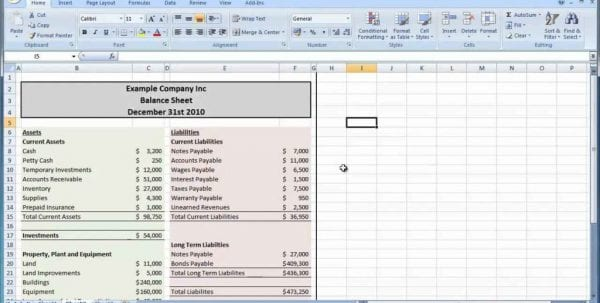 How To Set Up Spreadsheet For Budget