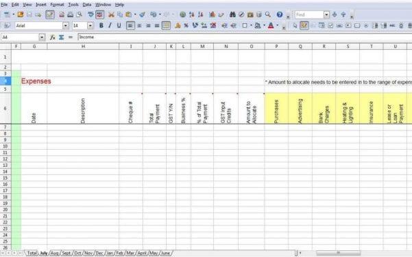 Income Tax Calculator Spreadsheet1