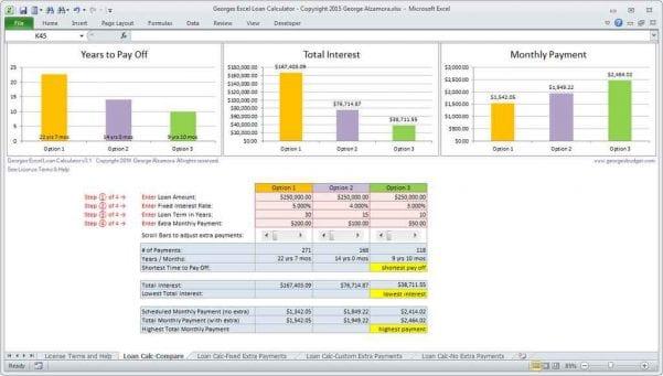 Insurance Comparison Spreadsheet1