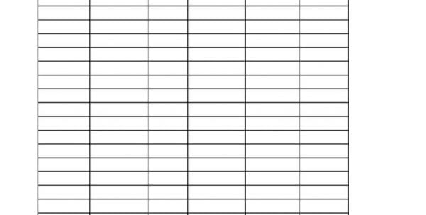 Inventory Spreadsheet Example