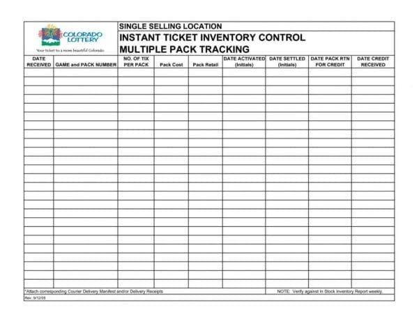 Inventory Tracking Spreadsheet Template Free1